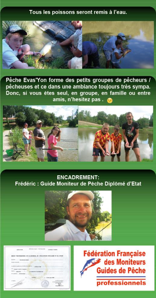 Animations Estivales Pêche en Vendée
