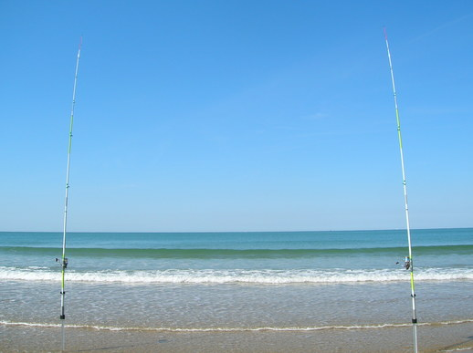 STAGE DECOUVERTE DU SURF-CASTING en VENDEE en Groupe