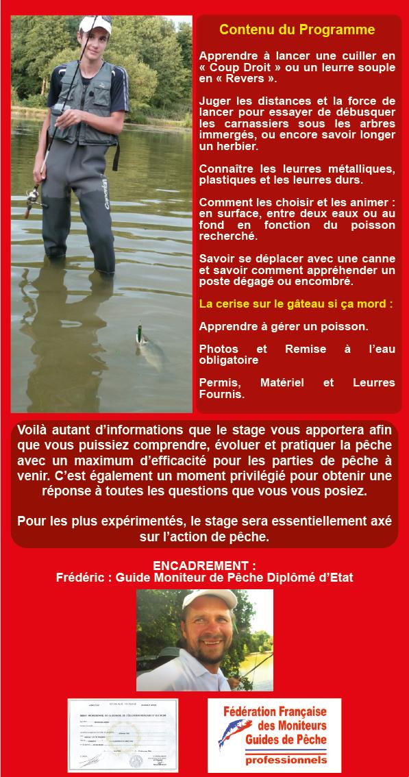 Découverte de la Pêche des Carnassiers aux Leurres, du Bord