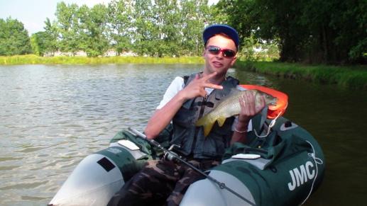 Pêche des Carpeaux depuis un Float-Tube