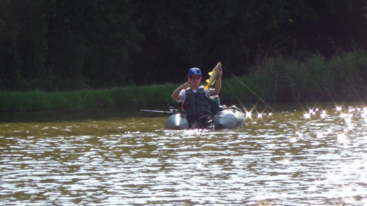 Pêche de la Carpe en Float-Tube