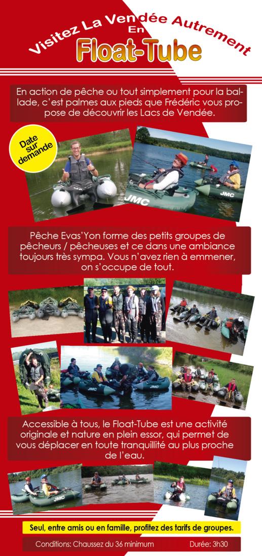 Visitez La Vendée Autrement, en Float-Tube