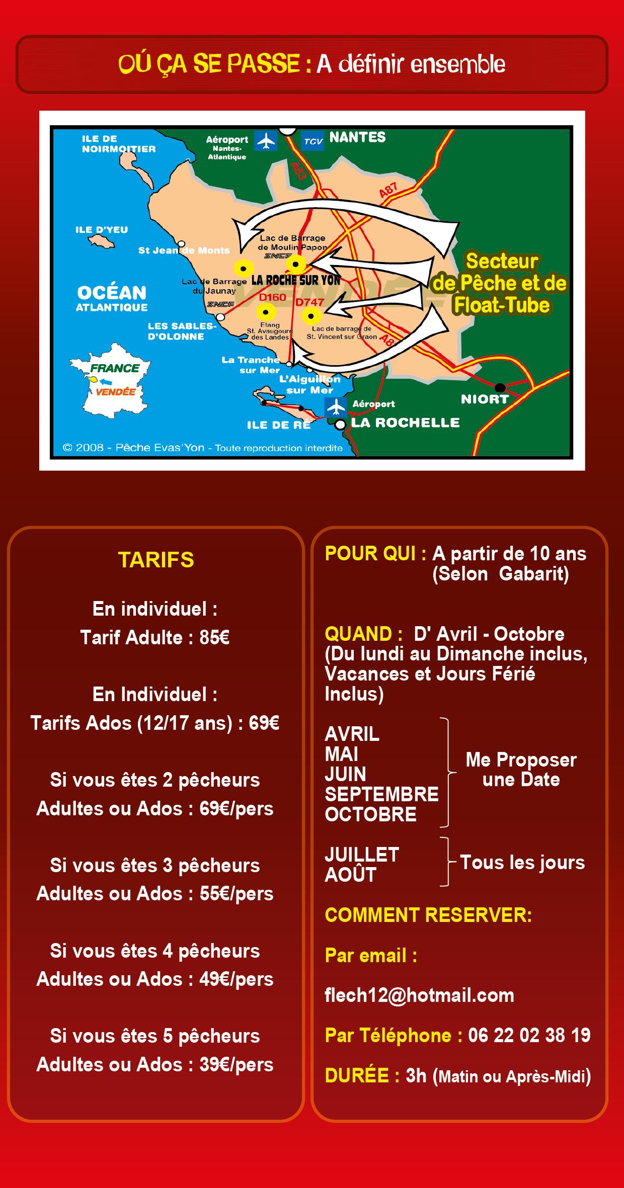 Découverte de la Pêche des Carnassiers aux Leurres, en Float-Tube, en Vendée