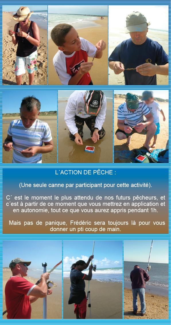 Stage Découverte du Surf-Casting en Vendée, en Groupe