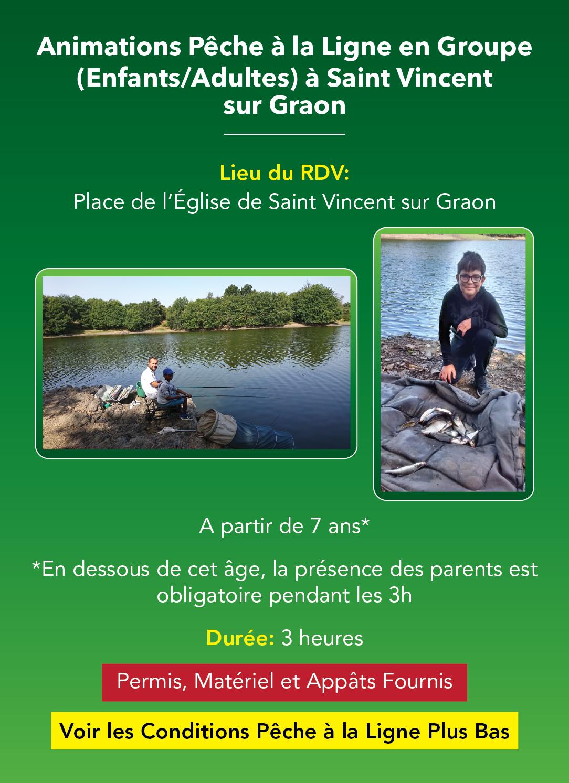Animations Pêche à la Ligne en Groupe, en Vendée