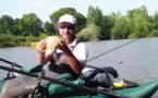 Stage Pêche des Carpeaux en Vendee, depuis un Float Tube